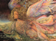 "Encouragement Card ""Nature's Guardian Angel"" Encouragement Greetings Card by Josephine Wall (ECG45675)"